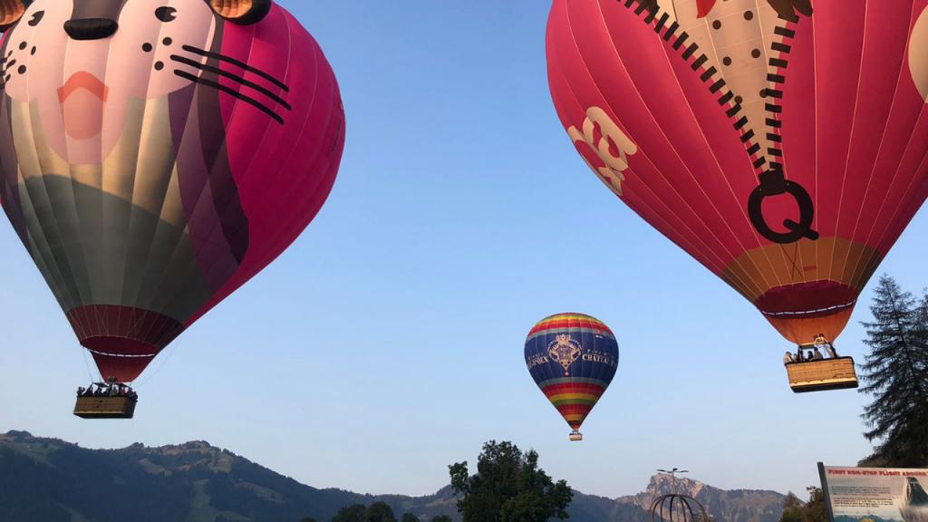 Destinos The Best: Passeio de Balão na Suiça com a Ballons du Leman